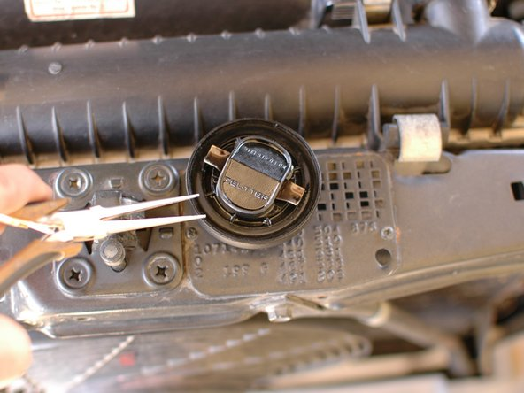 Alternatively, replace the seal on your new style plastic oil filler cap.