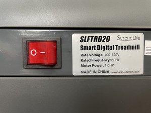 SereneLife Treadmill SLFTRD20 Belt Adjustment