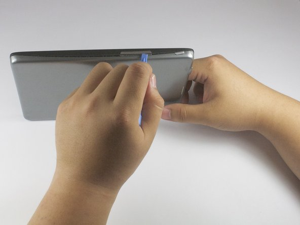 Before taking apart your tablet, make sure the device is powered off.