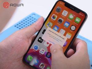 """100 % Reparatur für die Warnung """"Kein-Original-Akku""""/ Wichtige Akku-Meldung auf iPhone XS und höher"""