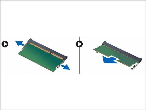Dell Vostro 5560 Memory Module Replacement