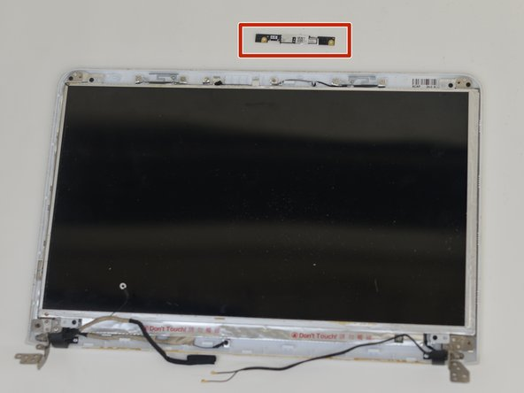 Sony Vaio SVE151G11L Webcam Replacement