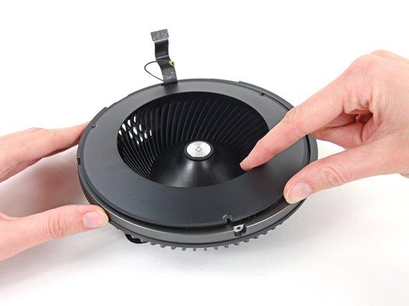 Remove the fan bezel.