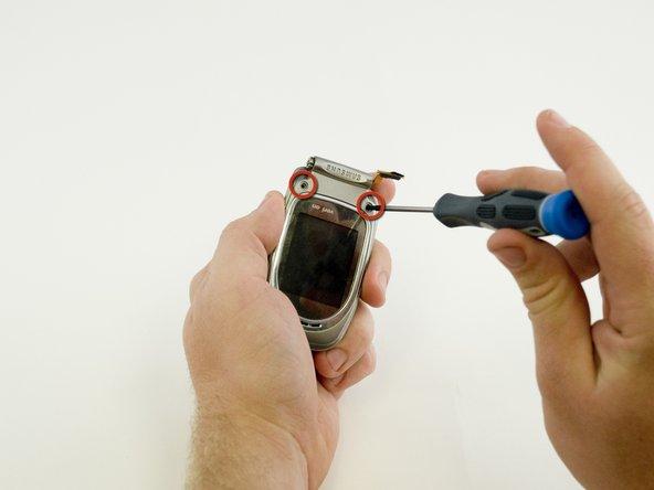 Samsung SCH-A670 Screen Casing Replacement