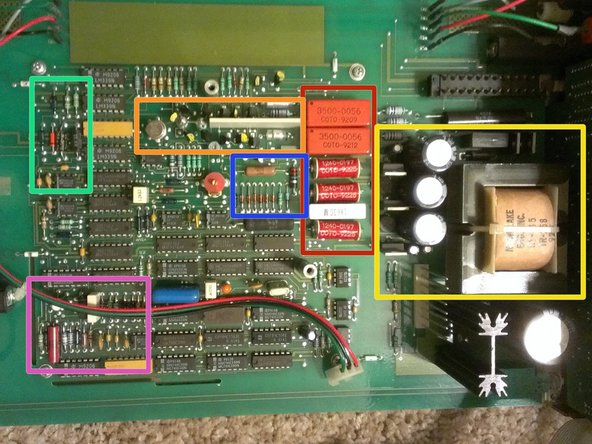 Let's take a quick break from disassembly to investigate the circuit board.
