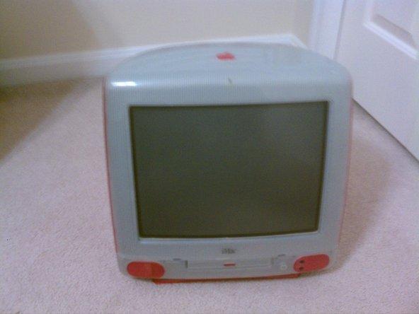 Eccoci qui - l'iMac originale, ovvero l'iMac G3.