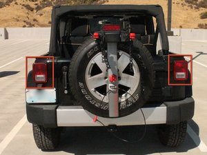2007-2012 Jeep Wrangler Tail Light Bulb