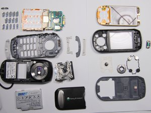 Démontage du Sony Ericsson S710a