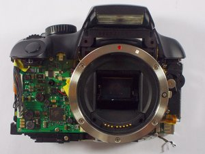Canon EOS Rebel XS Lens Mount Ring Replacement