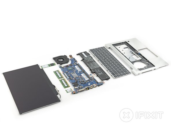 HP EliteBook 840 G6 Repairability Assessment