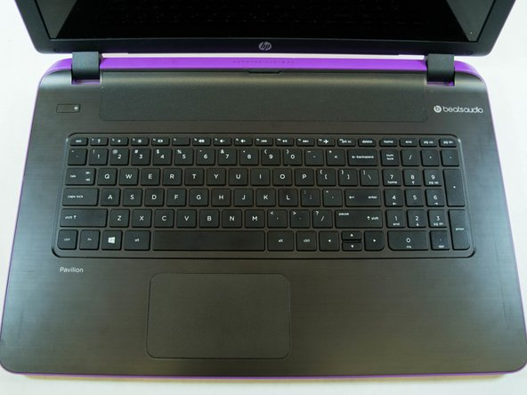HP Pavilion 17-f127ds Keyboard Replacement