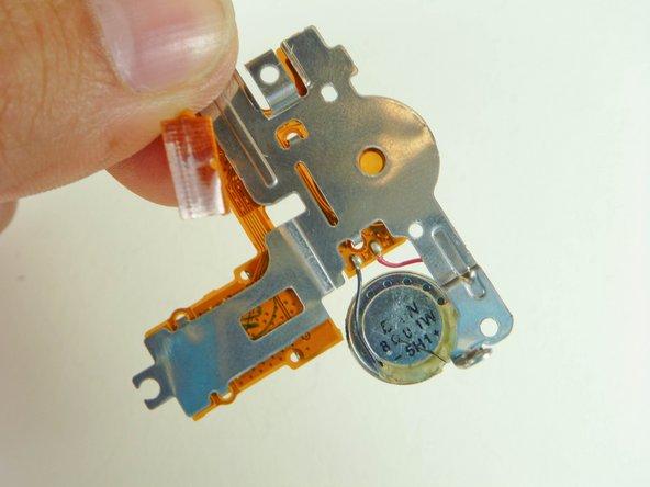 Remplacement des haut-parleurs Canon Powershot A610