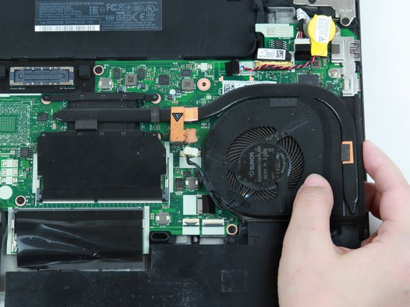 Lenovo ThinkPad T470 Fan and Heat Sink Replacement