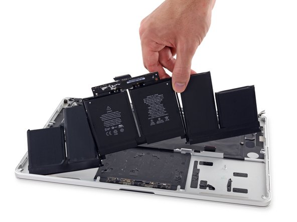 "Remplacement de la batterie du MacBook Pro 15""Retina mi-2015"