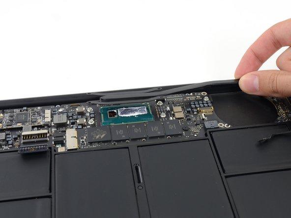 MacBook Air 11インチ Early 2015のヒートシンクの交換