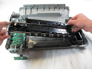 Disassembling HP Photosmart c3180 Feed Roller Assembly Removal