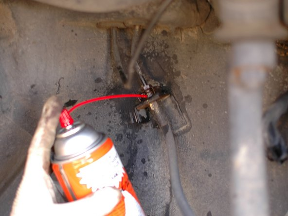 Since these hose connections are exposed to the elements under the car, and up near the wheels, they often get sprayed with water, road salt, and other corrosive materials.