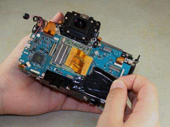 Canon EOS 6D Image Sensor Replacement