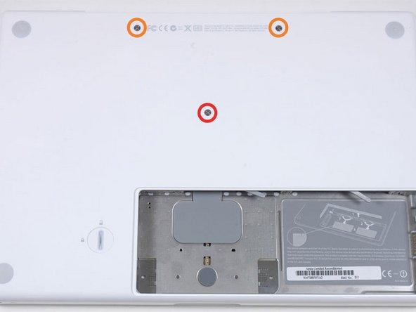 MacBook Core 2 Duo 天板の交換
