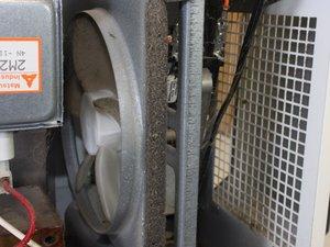 Repairing Quasar Microwave Fan