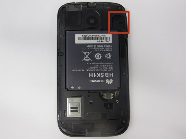 T-Mobile Huawei Prism U8651T MicroSD Card Replacement