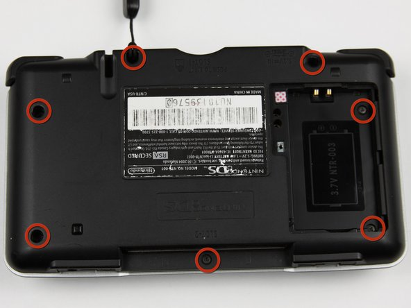 Nintendo DS Back Panel Replacement