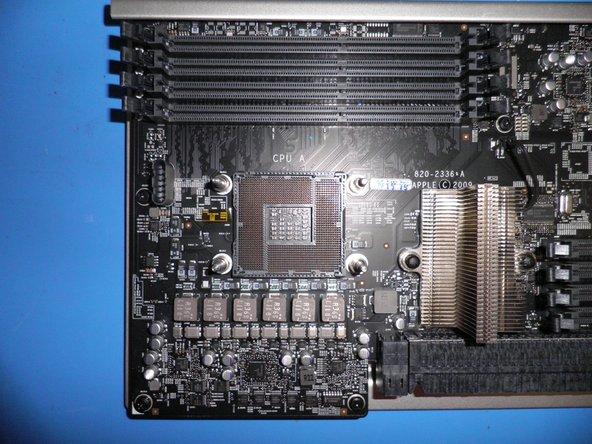 CPU A of Processor Board.