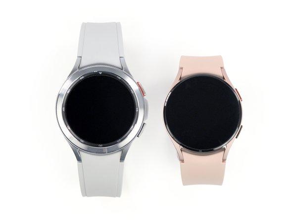 Obwohl die Spezifikationen der Galaxy Watch4 und der Galaxy Watch4 Classic fast identisch sind, haben beide ihren ganz eigenen Look: