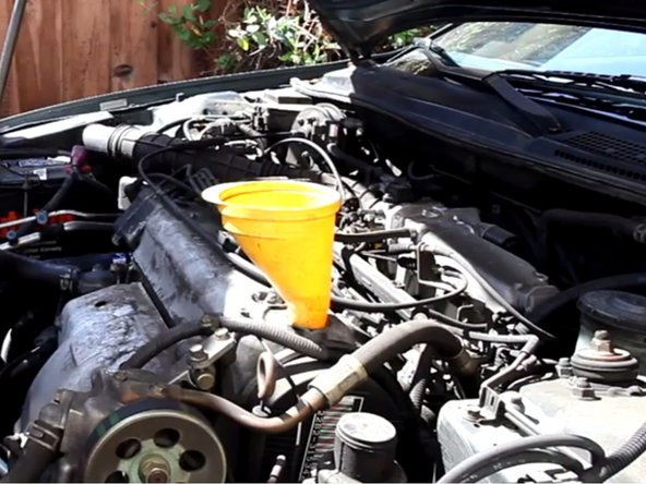 1994-1997 Honda Accord Oil and Oil Filter Replacement
