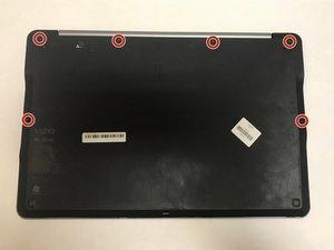 Vizio CT15 Back Panel Removal