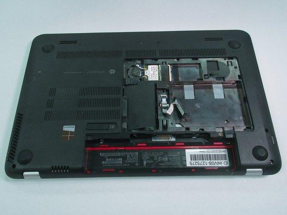 Disassembling HP Envy TouchSmart 15 Back Plate