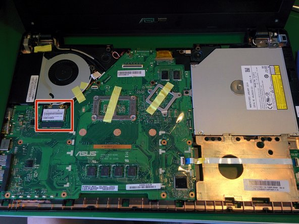 ASUS F550 Wifi Card Replacement