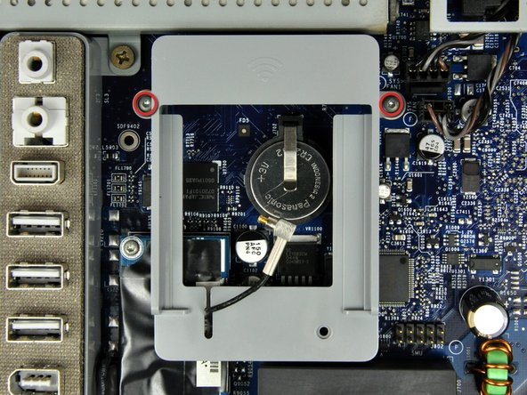"""Remplacement du modem de l'iMac G5 17"""" modèle A1058"""