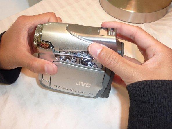 JVC GR-D290U LCD Screen Replacement