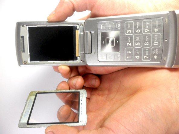 LG VX8700 Front Bezel Replacement