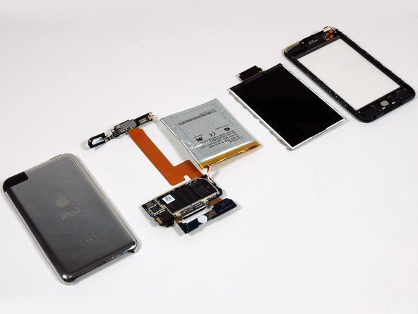 The iPod touch internals.