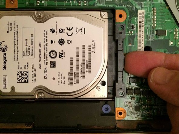 Dell Inspiron 15 (N5010) Hard Disk Replacement