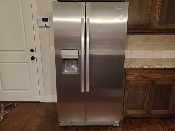 How to Replace a Filter on Whirlpool W10407342B side-by-side refrigerator
