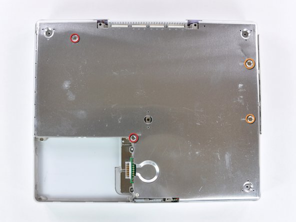 "iBook G4 12"" 1.33 GHz Bottom Shield Replacement"