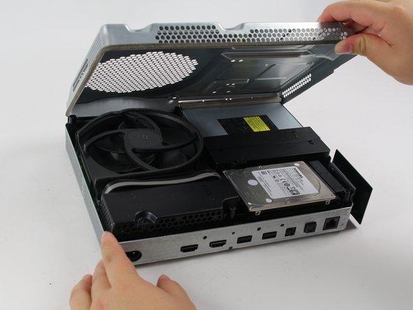 Xbox One S innere Gehäuseabdeckung austauschen