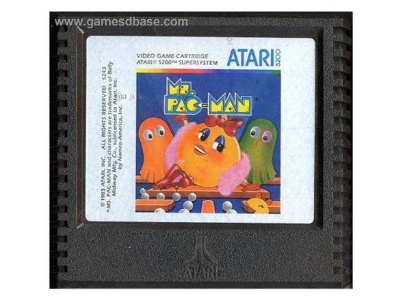 Atari 5200 Game Cartridge Disassembly