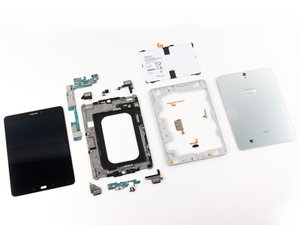 Samsung Galaxy Tab S3 Repairability Assessment
