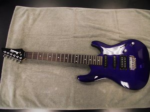 Ibanez GSA60 Gio Electric Guitar Disassembly