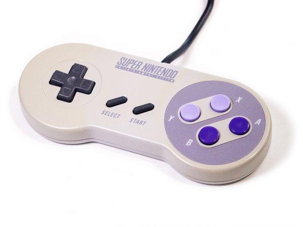 It's your classic Super Nintendo controller.