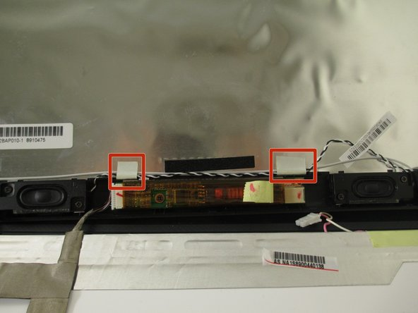 Asus F6A-X2 Speaker Replacement