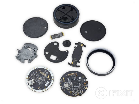 Amazon Echo Dot Repairability Score: 6 out of 10 (10 is the easiest to repair)