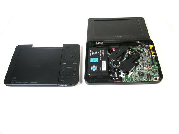 Sony DVP-FX730 Battery Replacement
