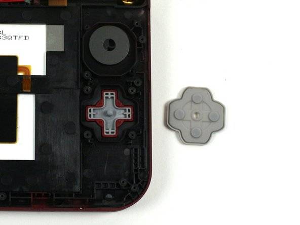 Nintendo 3DS XL 2015 Directional Pad Replacement