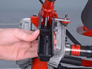 Throttle Lever and Cable