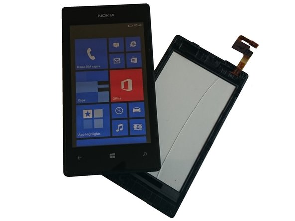 Nokia Lumia 520 Touch screen Glass with Frame - Video Tutorial Replacement